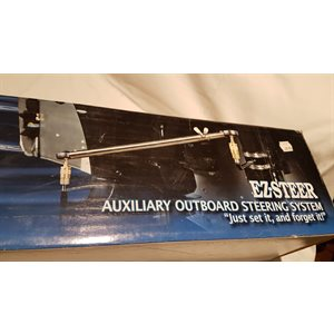 Auxiliary outboard steering system, Ez-Steer