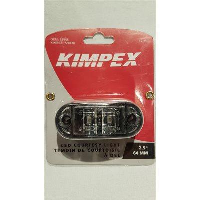 Témoin de courtoisie à DEL 2.5'' / 64mm 12V Kimpex